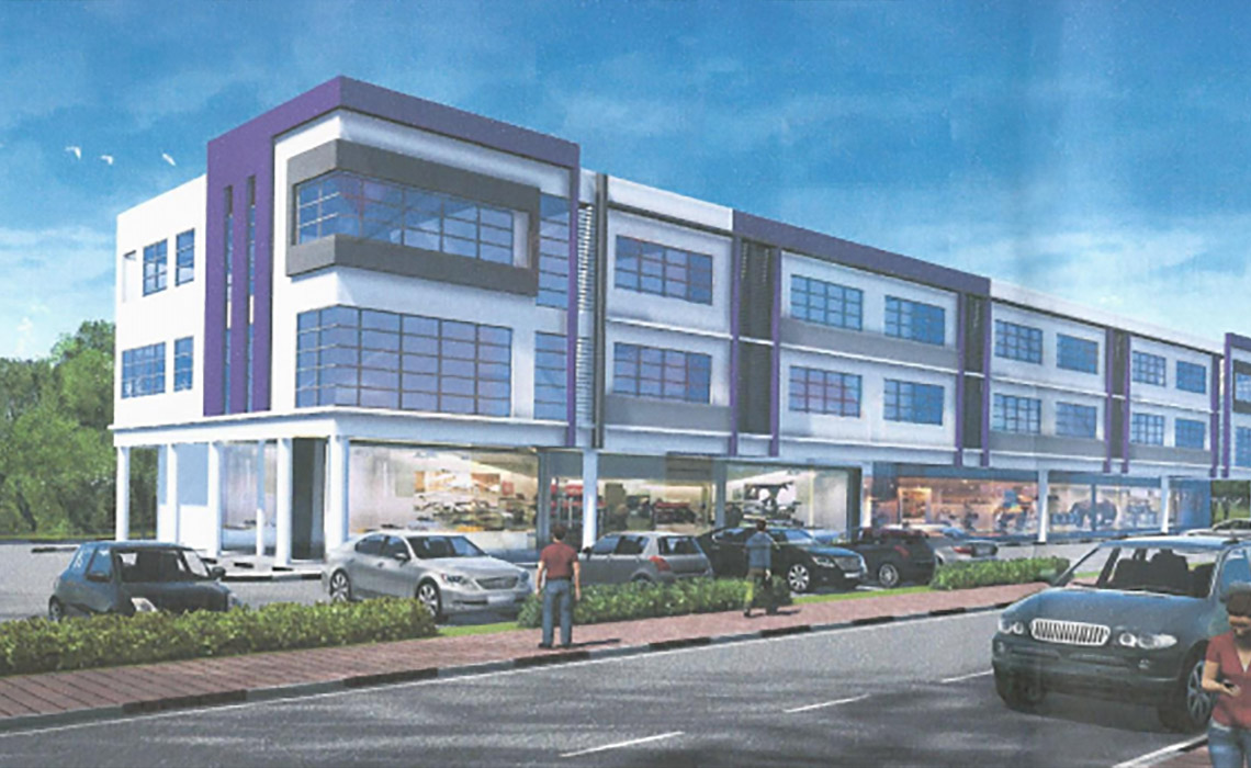 Mixed Commercial and Residential, Kota Samarahan